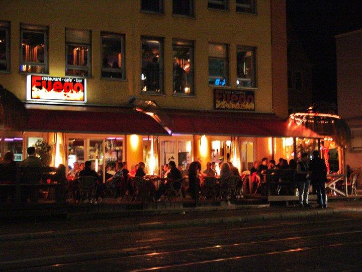 wohnzimmer bar würzburg:Escalera and Fuego